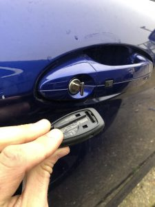 Ford keyless key not unlocking car